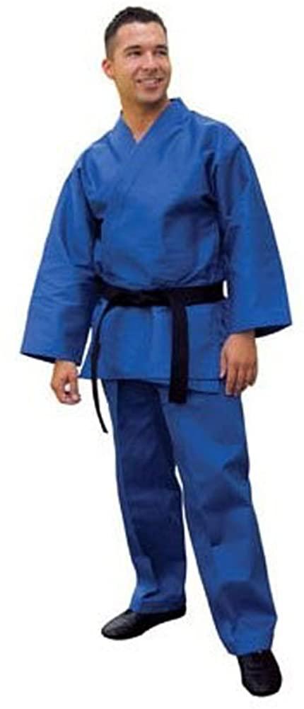 Tiger Claw Traditional Karate Uniform (Blue, 0)