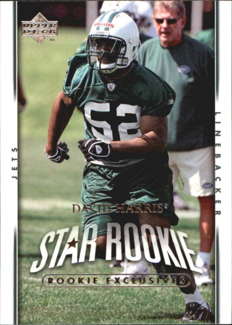 2007 Upper Deck Exclusive Edition Rookies #247 David Harris NM-MT