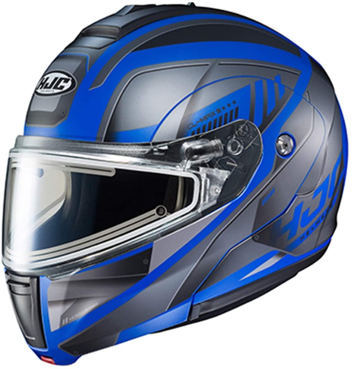 HJC CL-Max 3 Gallant Adult Snowmobile Helmet with Electric Shield - MC-2SF / Medium