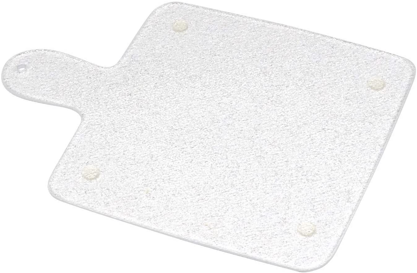 Kitchen Kare Small Acrylic Paddle Cutting Board with Handle, 8.5