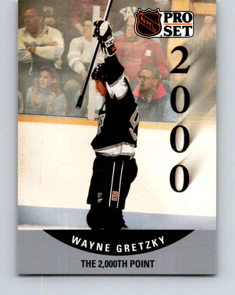 1990-91 Pro Set #703 Wayne Gretzky Mint Los Angeles Kings
