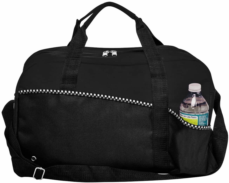 Natico 60-DB-15BK Carry All Duffel Bag, Black