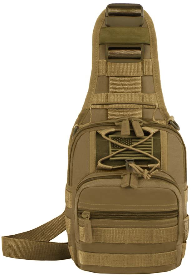 East West U.S.A RT517 Tactical Sling Chest Utility Shoulder Bag