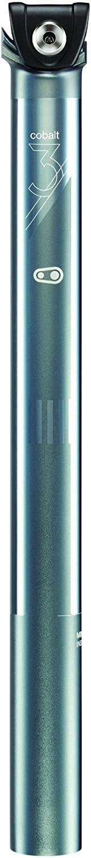 Crank Brothers Cobalt 3 Seatpost Iron/Black, 34.9mm/400mm