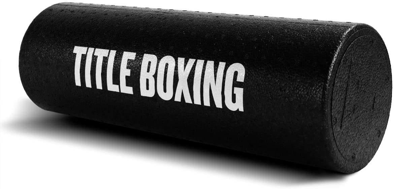 Title Boxing High Density Foam Roller, Black