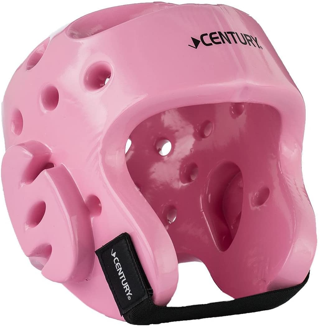 BBS Century Sparring Head Gear with Evolution Face Shield Pink Youth