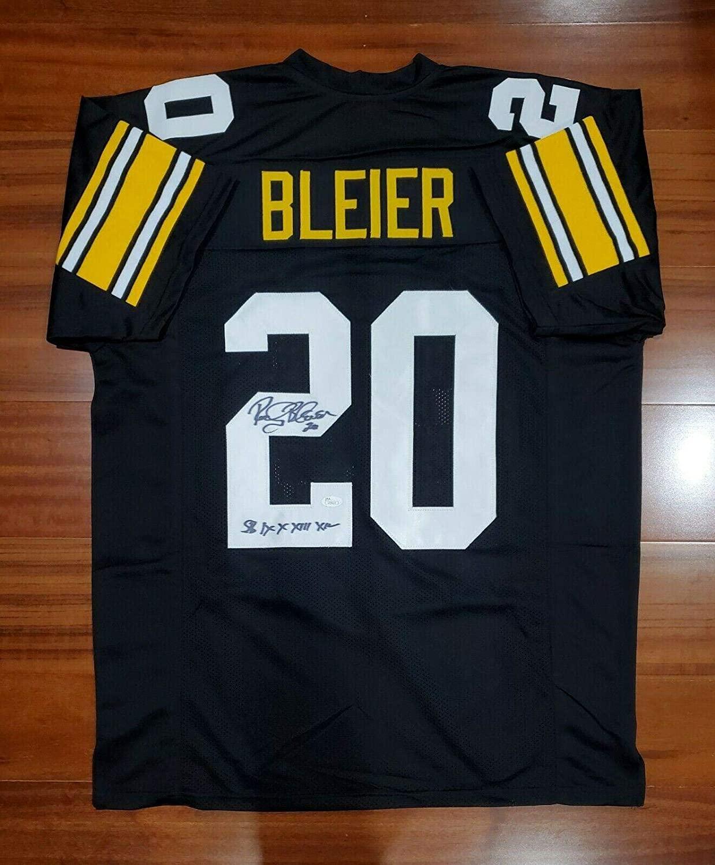 Rocky Bleier Autographed Jersey - JSA Certified - Autographed NFL Jerseys