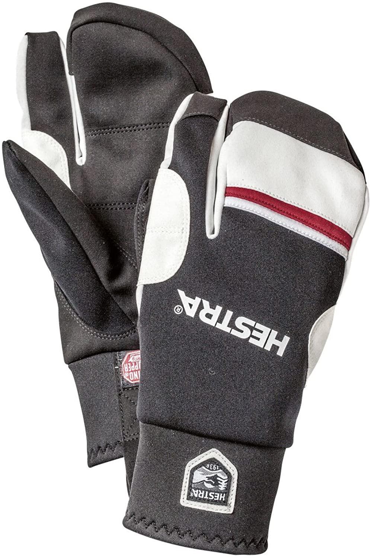 Hestra Gloves 37092 Windstopper Race Tracker 3-Finger