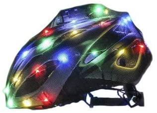 PsychoLights LED Helmet Cover - Rainbow Lights