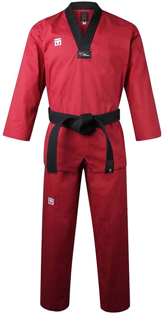 Mooto Korea Taekwondo BS4.5 Three Colors Uniform (Black,Red,Blue) MMA Martial Arts Karate Hapkido Team Demonstration Gym School Academy