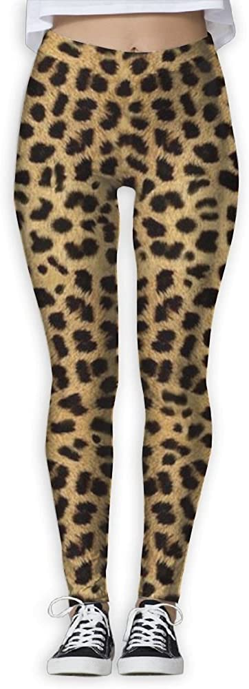 ZWZ Yoga Leggings Sexy Leopard Printed Skinny Yoga Jogger Running Workout Sweatpants