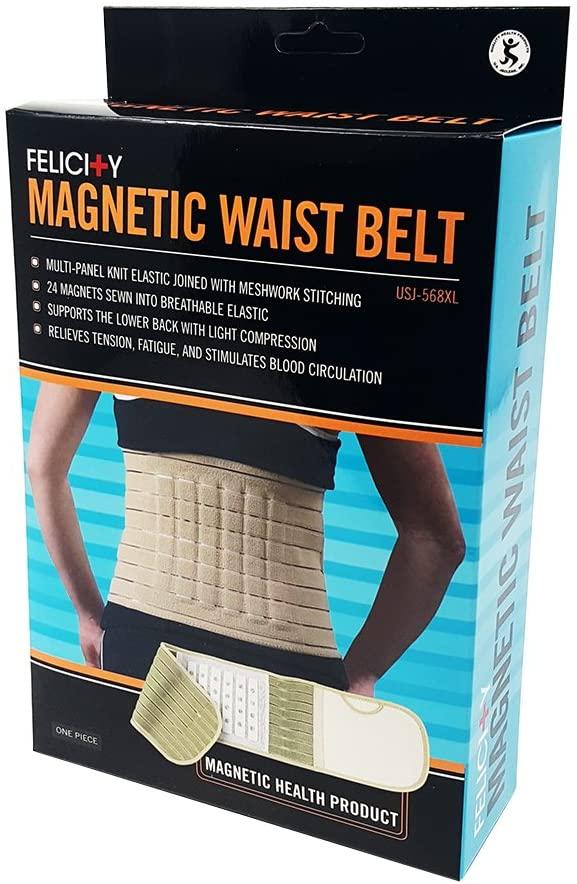 Felicity Magnetic Waist Belt (Beige- Medium), Beige, Medium