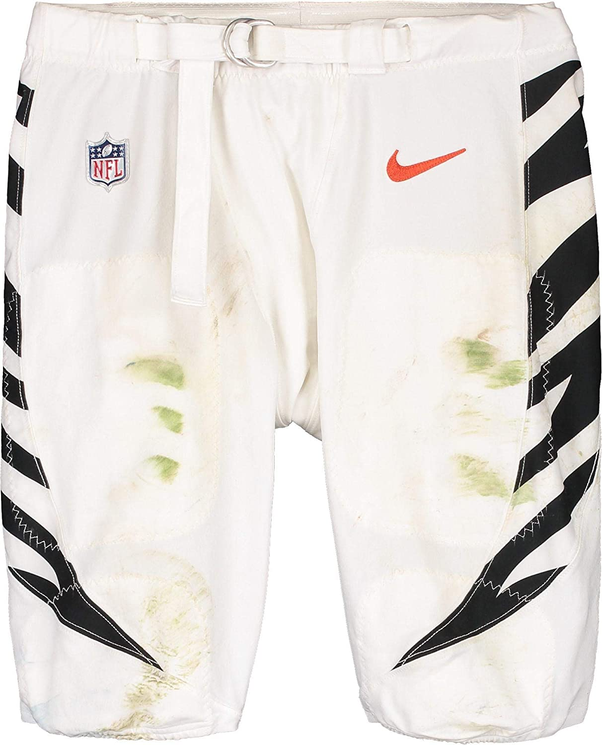 Bobby Hart Cincinnati Bengals Game-Used #68 White Pants vs. Los Angeles Rams on October 27, 2019 - Fanatics Authentic Certified