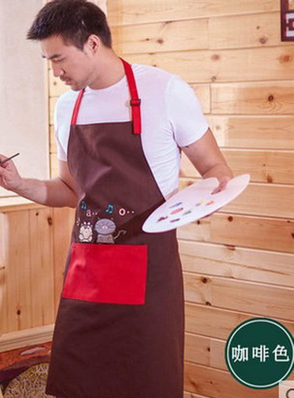 geranjie Apron Korean fashion cute adult waist around simple kitchen anti-oil