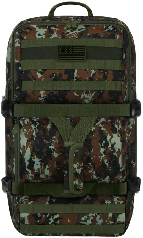 East West U.S.A RTDC705L Tactical Military Camouflage Combo Bag