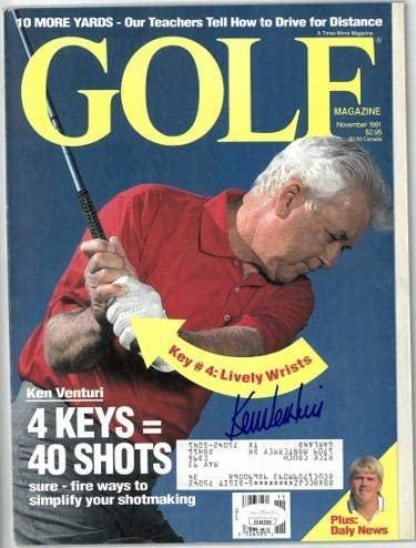 Ken Venturi signed Golf Full Magazine November 1991- #EE60298 - JSA Certified - Autographed Golf Magazines