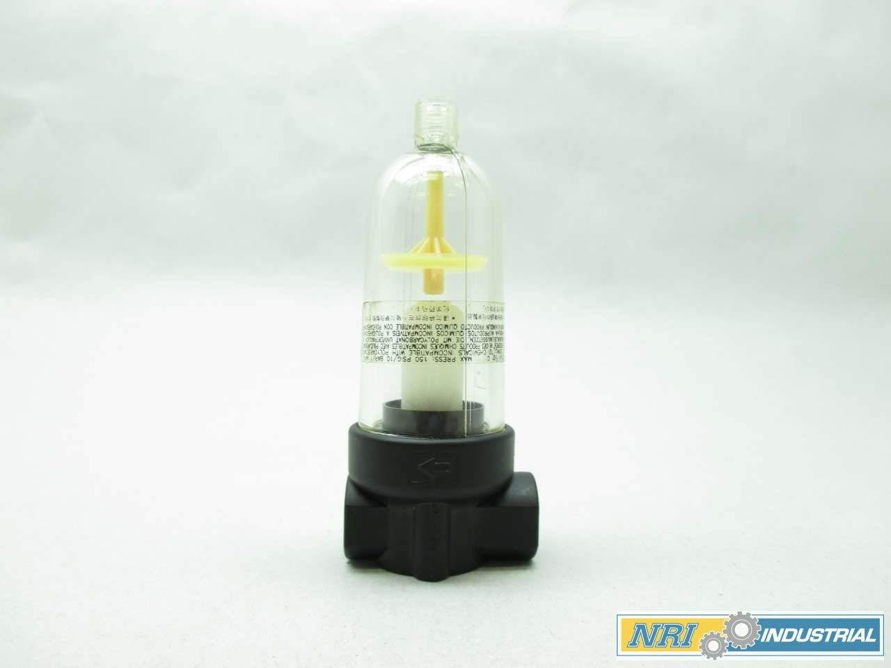NEW NORGREN F07-100-A1TA 150PSI 1/8 IN NPT PNEUMATIC FILTER D439451