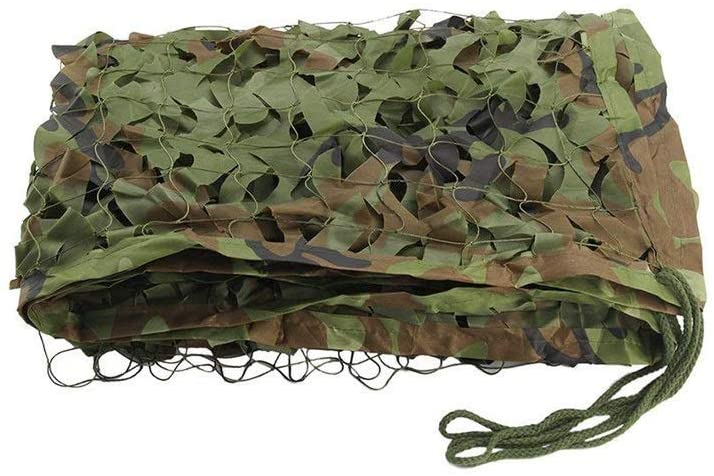 Military Camouflage Net Woodlands Leaves Camo Cover for Hunting Camping Military Hunting