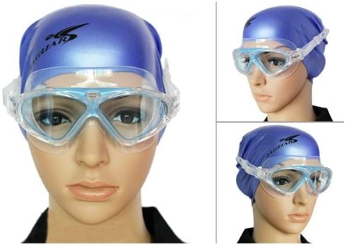 Waterproof Anti-fog Anti-UV Swimming Glasses Goggles For Adults - 1 Piece Random Color