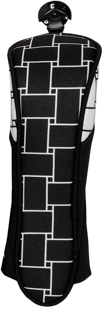 Hybrid Golf Club Cover - Glove It - Women's Golf Head Cover for Hybrids - Ladies Golf Head Covers - Weather Resistant Polyester - Expandable Knit Fabric