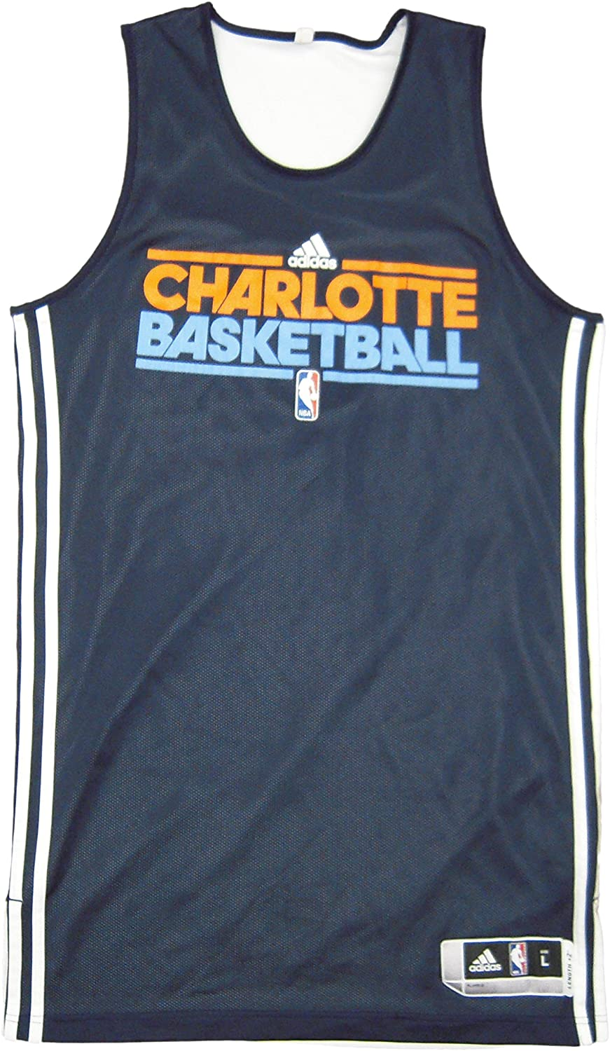 NBA Charlotte Bobcats 2011-12 Team Issued adidas Reversible Practice Jersey - Size XL +2