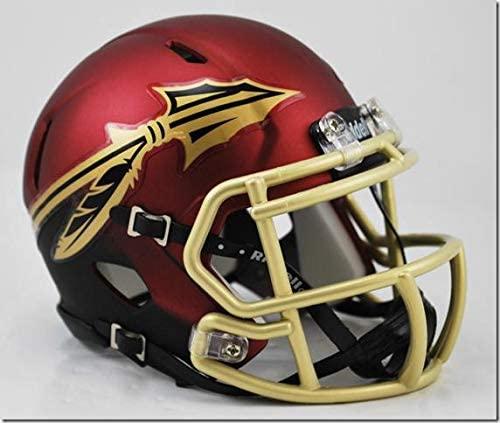 Florida State Seminoles Garnet Riddell Speed Mini Football Helmet - College Mini Helmets