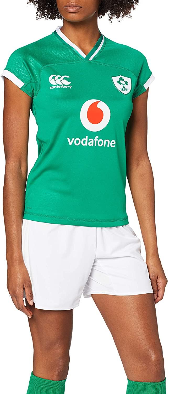 Canterbury Official 19/20 Ireland Rugby Women's Vapodri+ Home Pro Jersey