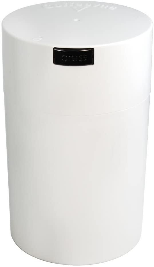 Professional Series 1 lb Coffeevac V with Degassing Valve, White
