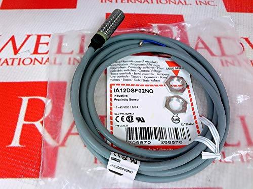 CARLO GAVAZZI IA12DSF02NO INDUCTIVE Proximity SENSORS- IND Prox BS M12 NPN NO CAB