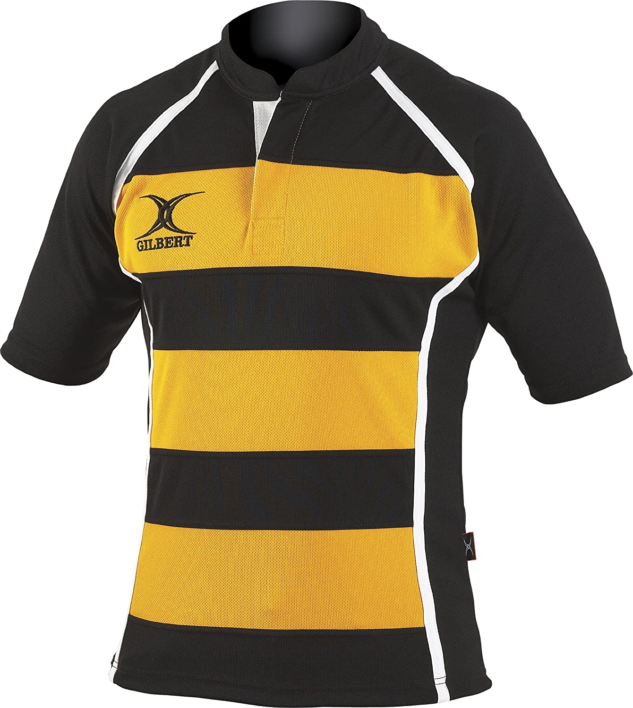Gilbert Xact Hoops Rugby Jersey