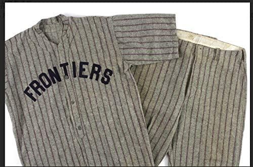 1910's Frontiers Game Worn Wool/Flannel Baseball Uniform, Jersey & Pants, Mears - MLB Game Used Jerseys