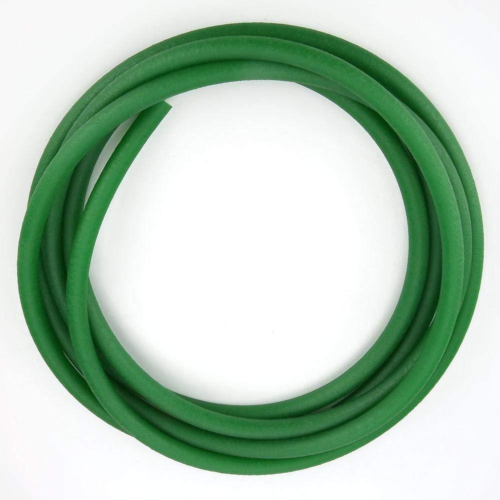 Polyurethane Belt - Green Rough Surface PU Polyurethane Round Belt Compatible with Drive Transmission(10mm3m)