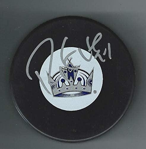 Signed Ryan Smyth Hockey Puck - Autographed NHL Pucks