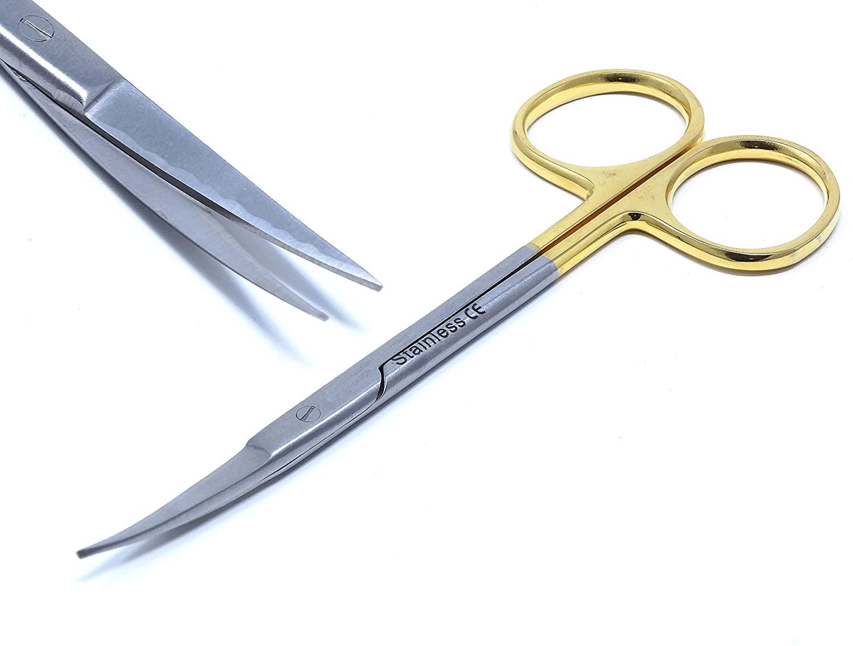 TC Dissecting Iris Sharp Fine Point Scissors, 4.5