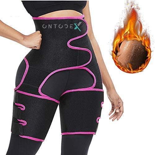 ONTODEX Booty Hip Enhancer Invisible Waist Trimmer Butt Lifter Shaper Thigh Trainer for Women