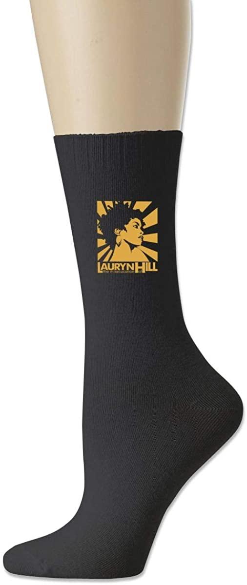 Lauryn The Miseducation Hill Cotton Socks Moisture Control Crew Socks For Men Women
