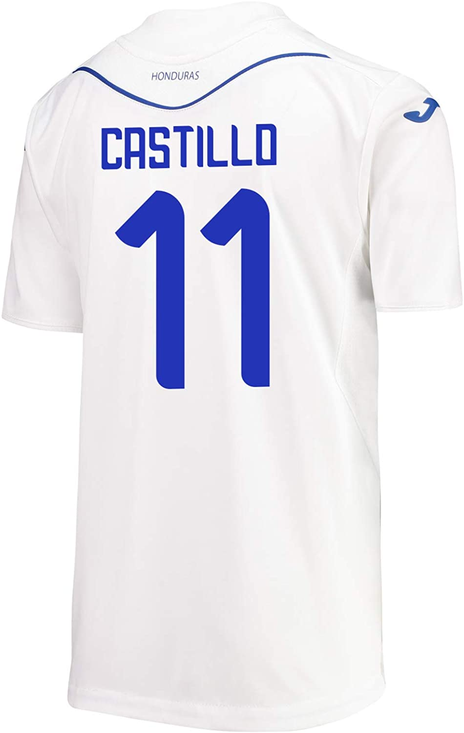 Joma Castillo #11 Honduras Home Soccer Youth Jersey 2019-20