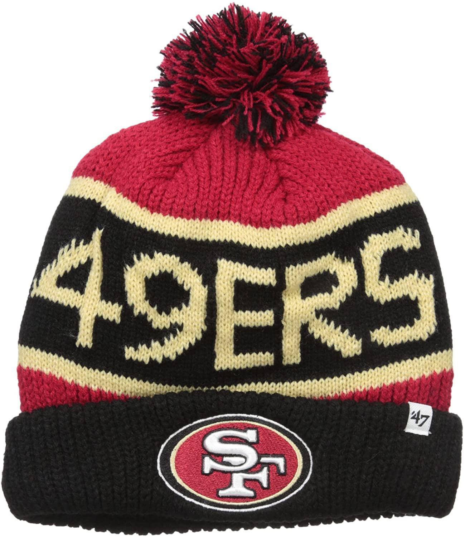 '47 NFL Adult Men's Calgary Cuff Knit Hat