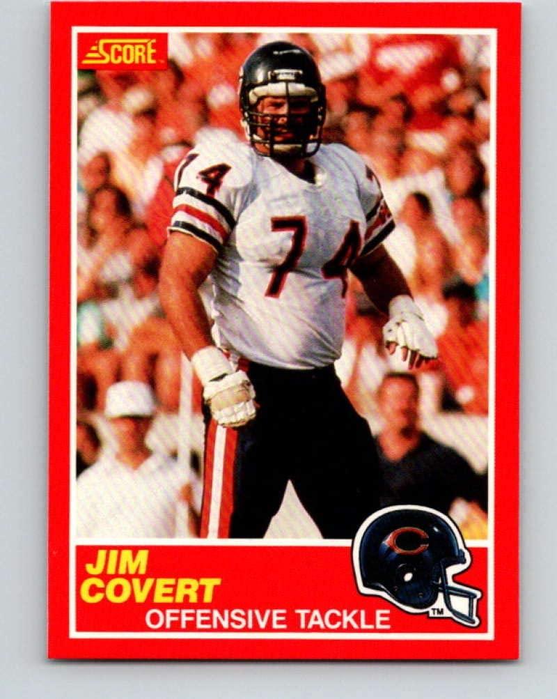 1989 Score #214 Jim Covert Mint Football NFL Bears