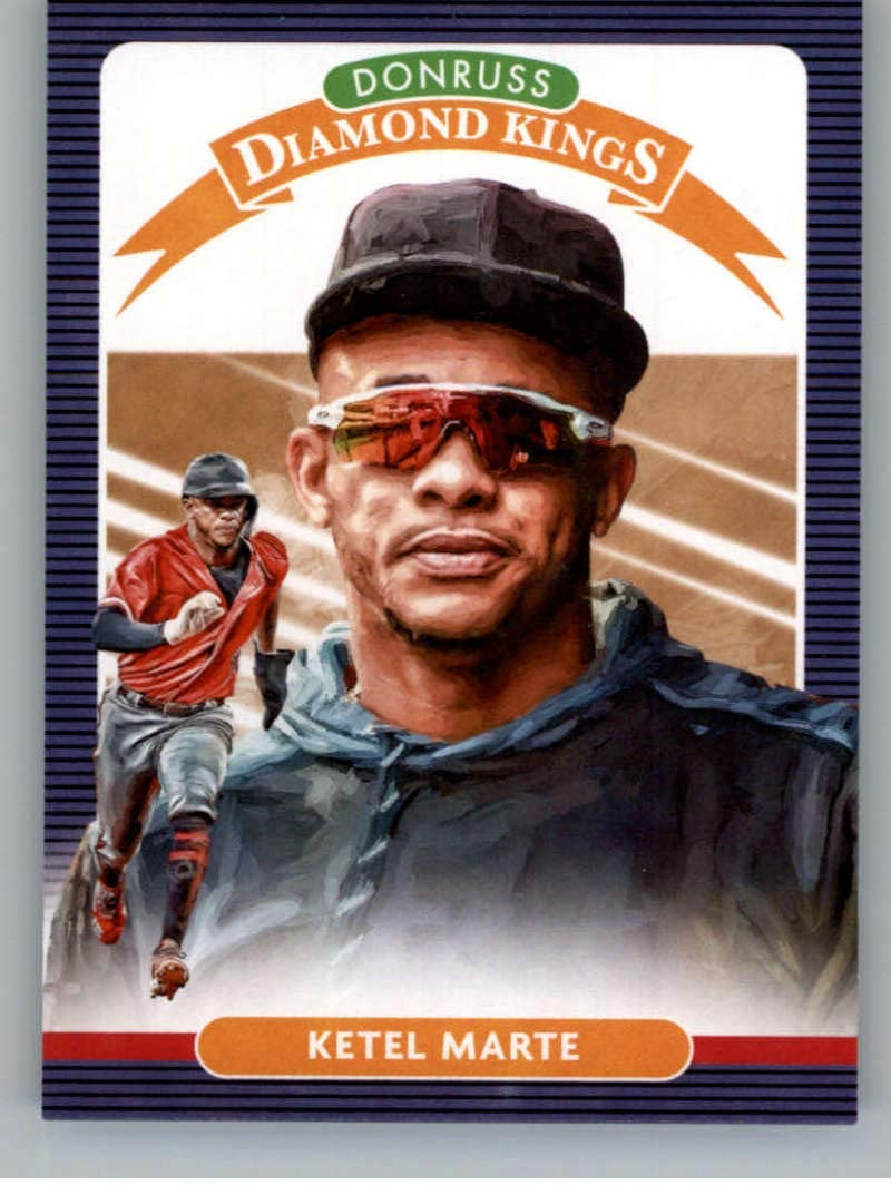2020 Donruss #28 Ketel Marte Arizona Diamondbacks Baseball MLB