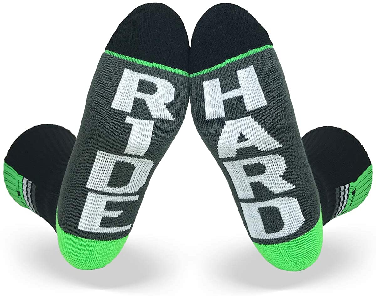 Fuel - Apex Crew Sock RIDE/HARD/one size fits most