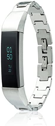 fitjewels for Fitbit Alta - Alta HR - Jewelry Bracelet SOSO - Stainless Steel - Jewelry for Fitbit Alta - Fitbit Alta Band - Fitbit Alta Accessories - Fitbit Alta Replacement Band (No Tracker)