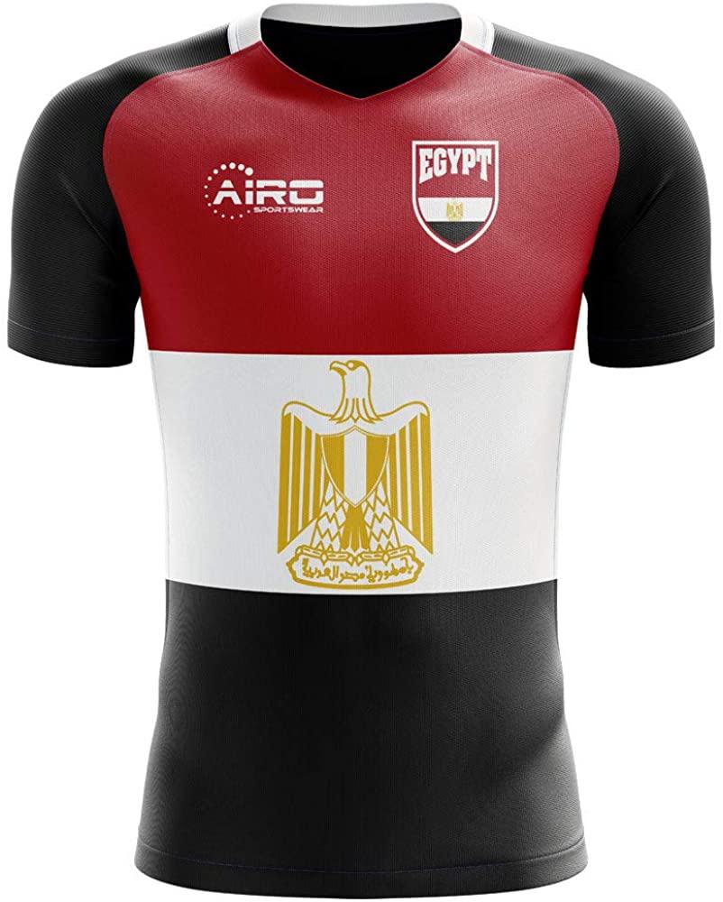 Airosportswear 2020-2021 Egypt Flag Concept Football Soccer T-Shirt Jersey