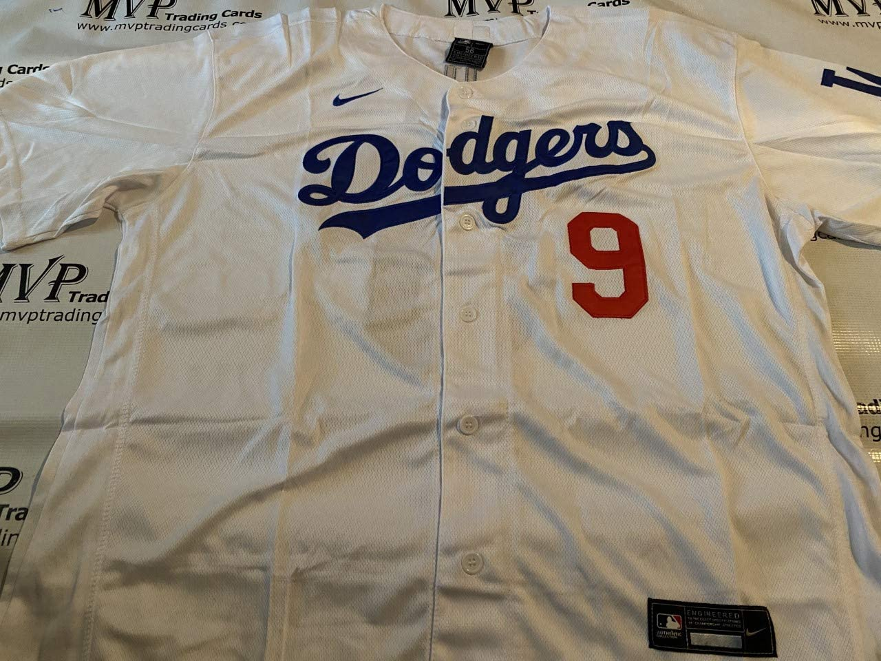 Gavin Lux Home White Los Angeles Dodgers Men's Size Small Jersey