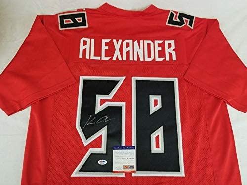 Autographed Kwon Alexander Jersey - COA #AE51210 - PSA/DNA Certified - Autographed NFL Jerseys