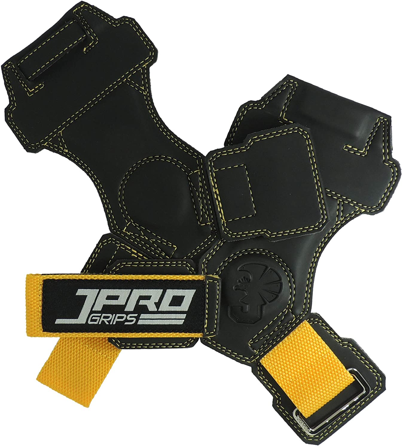 JPRO Innovative Design from The USA Manufactured in Thailand. Weight Lifting Accessory with Unisex Grip. Developed and Patented 'Finger Loop' Revolutionary Fitness and Gym Gear.