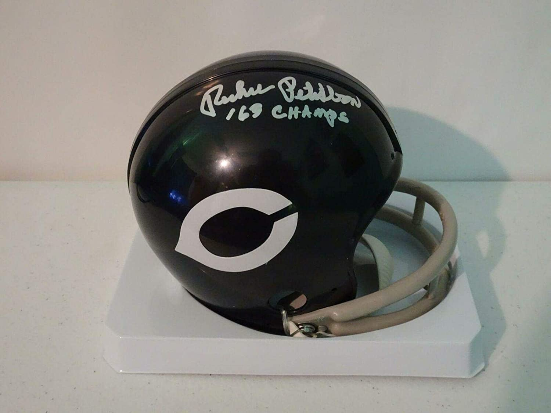 Richie Petitbon Signed Mini Helmet - w insc #HH11258 - JSA Certified - Autographed NFL Mini Helmets
