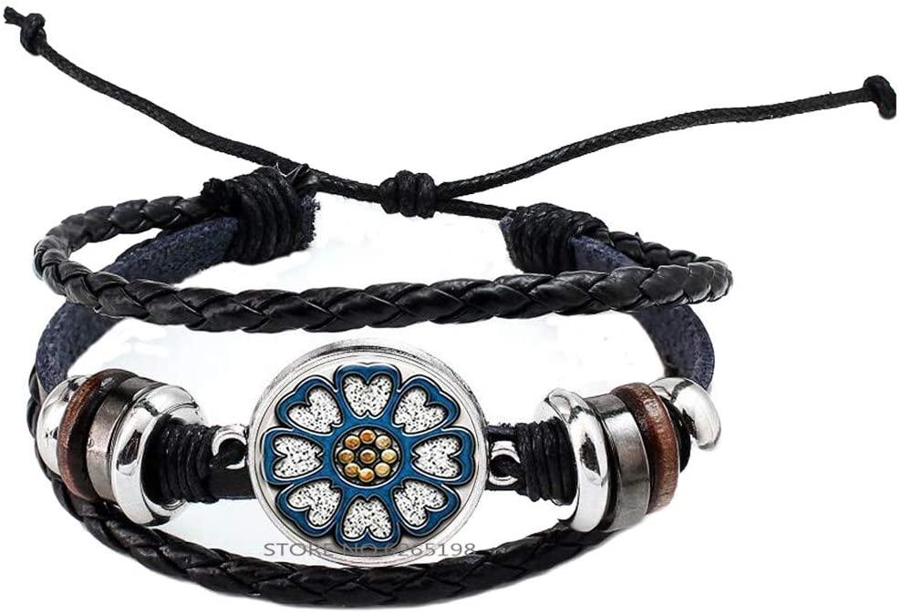 White Lotus Bracelet Pai Sho Bangle Lotus Ornament Minimalist Bracelet,pai sho Jewelry,N208