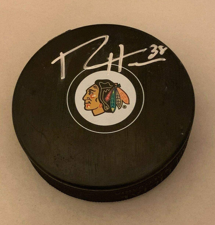 Autographed Ryan Hartman Hockey Puck - Hawks - Autographed NHL Pucks