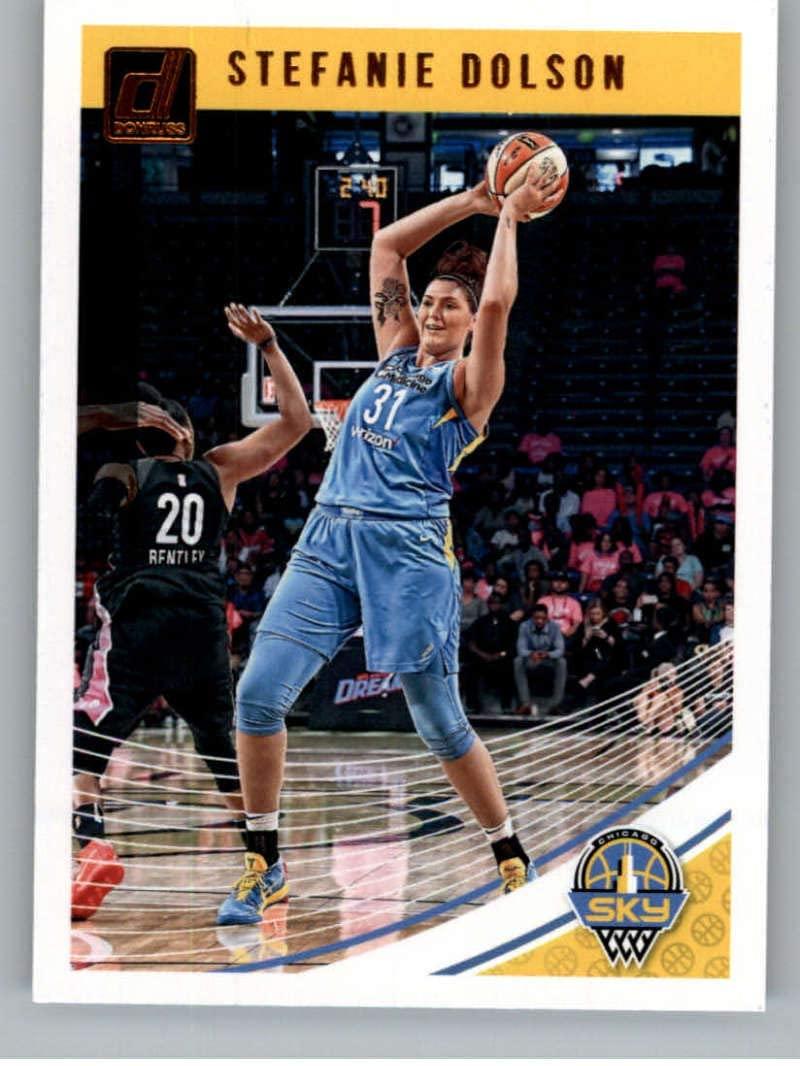 2019 Donruss WNBA #60 Stefanie Dolson Chicago Sky Basketball Trading Card